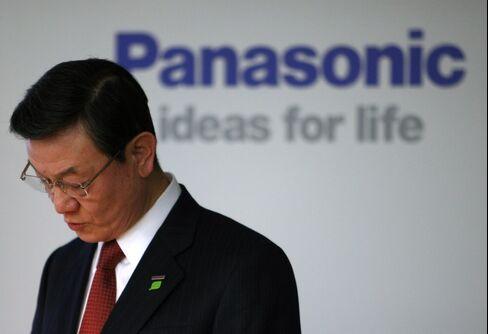 Panasonic President Fumio Otsubo