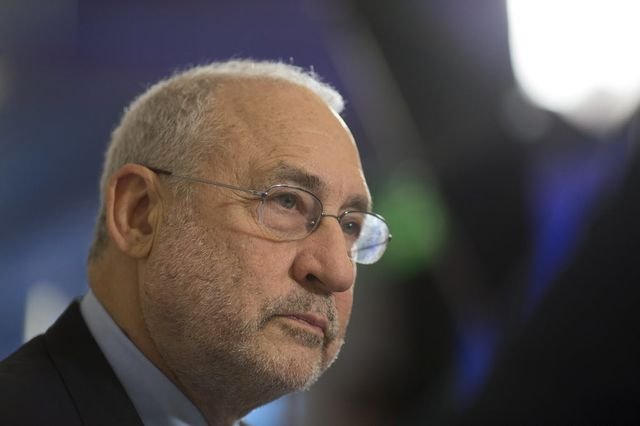 Economist Joseph Stiglitz offered a few choice words about credit raters.