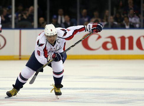 Washington Capitals Player Alex Ovechkin