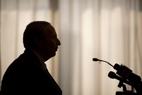 Former U.S. Treasury Secretary Lawrence Summers