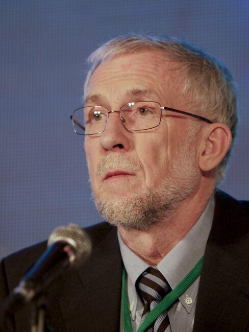 Sweden's Central Bank Deputy Governor Lars Svensson