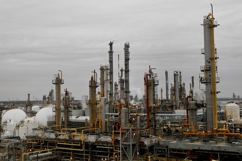 LyondellBasell Industries Plant stands in Pasadena