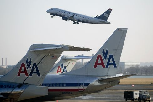 AMR-US Airways Antitrust Suit Seen as Difficult to Settle