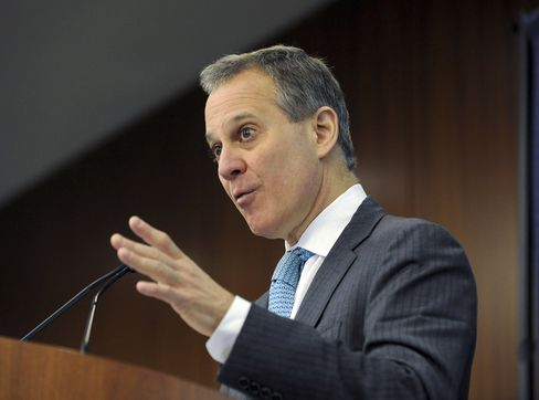 NY Attorney General Eric Schneiderman