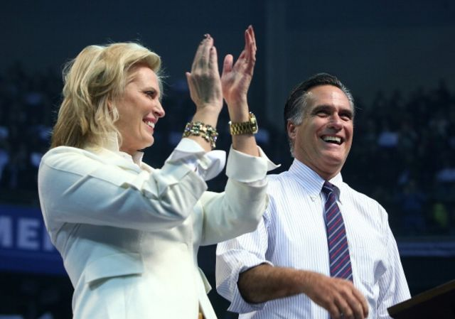 "The Mormon ""brand"" has changed since Ann Romney chose to raise her boys. Photographer: Justin Sullivan/Getty Images"