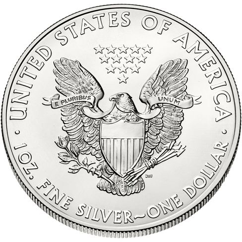 U.S. Mint Silver Coins Run Out as Fund Buying at 5-Year High