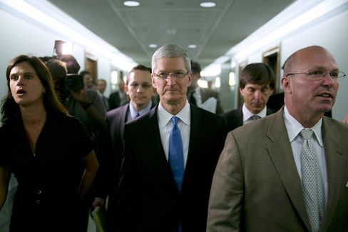 Apple's Tax Magic Leaves Irish Bondholders Unmoved