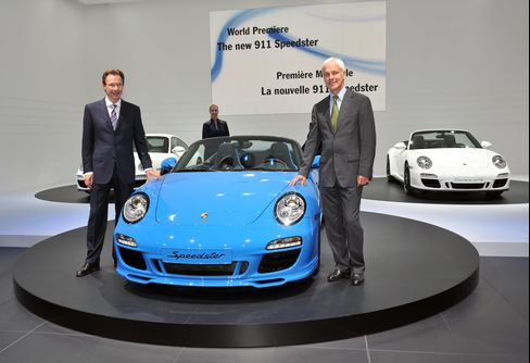 Porsche's 911 Speedster May Sell Out by Late October