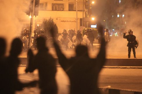 Fatal Egypt Clashes Fuel Investor Concern