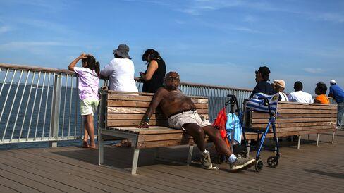 Visiting Coney Island in Brooklyn