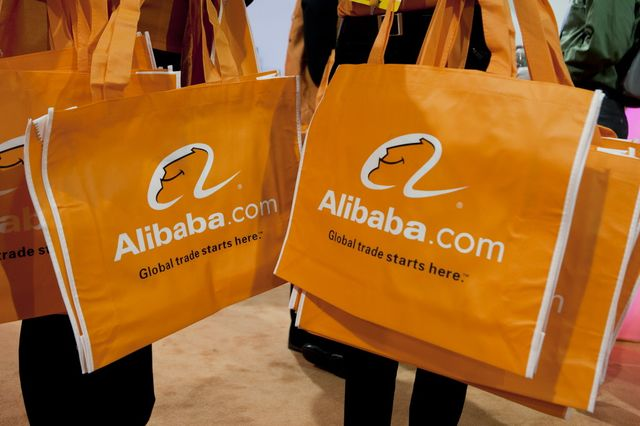 Wanted: Fiction writers to come up with riveting copy for the pending Alibaba IPO. Photographer: Andrew Harrer/Bloomberg.