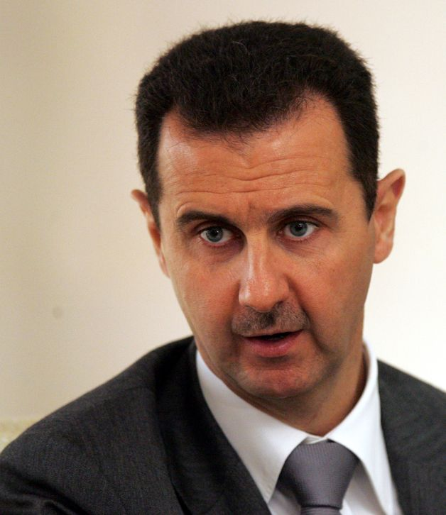 "President Bashar al-Assad said, ""We have been talking about these repercussions since the beginning of the crisis in Syria. - 628x-1"