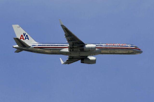American Airlines tweets the wrong message.Photographer:Eliot J. Schechter/Bloomberg