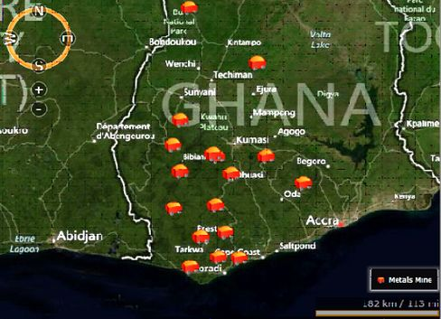 Gold Mines in Ghana
