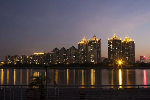China Home Prices Fall in Record Cities