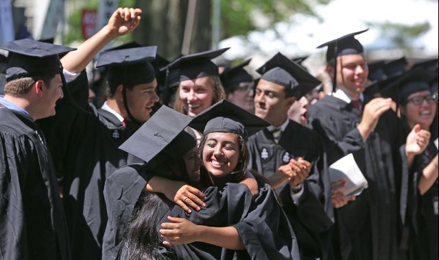 If graduates leavewith ears and minds closed, the university has failed both the student and society.Photographer: David L Ryan/The Boston Globe via Getty Images