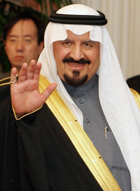 Crown Prince Sultan, Saudi Arabia's Defense Minister