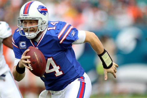 NFL Quarterback Ryan Fitzpatrick