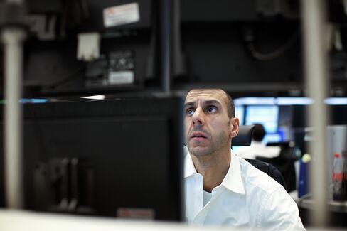 Europe Stocks Decline on German Data as Euro Weakens Before ECB