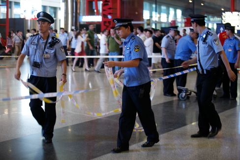 Beijing Airport Bomber Highlights Threat to Social Stability
