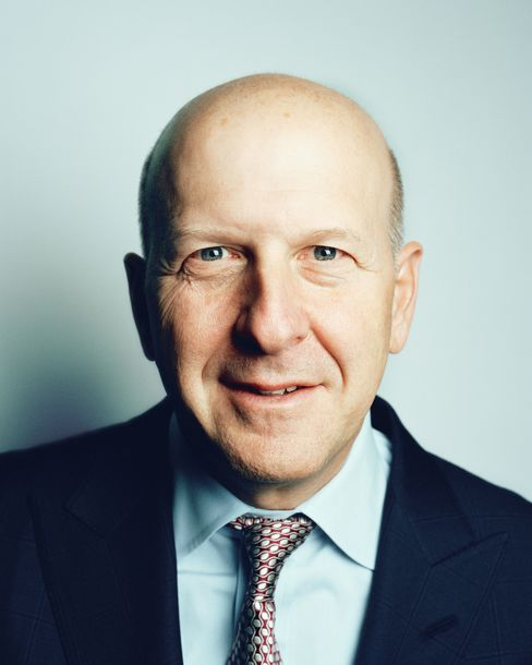 David Solomon is global co-head of investment banking at Goldman Sachs Group Inc. The bank was No. 2 in overall fees for 2013 in Bloomberg Markets' ranking with an estimated $3.77 billion. It took the top spot in the fees it brought in for both equity underwriting and M&A advising. Solomon says his industry is picking up and predicts improvement in overall economic growth. ``But I don't think it's going to be meaningfully robust or blow away expectations,'' he says.   Photograph: Ryan Pfluger/Bloomberg Markets