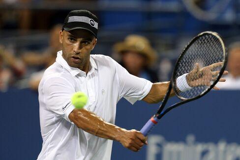 Tennis Player James Blake