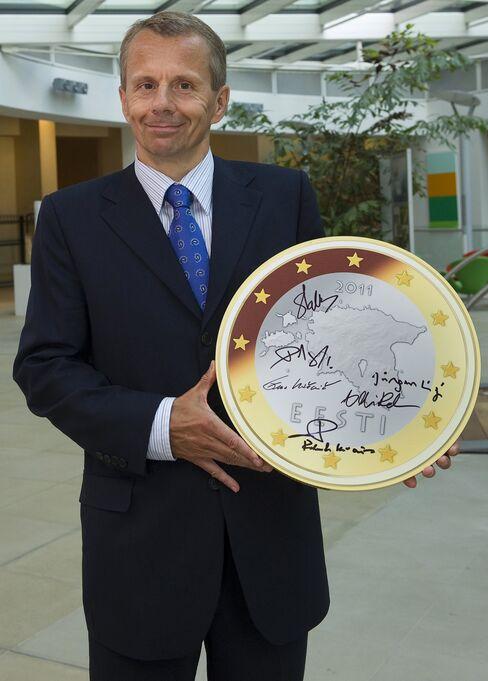 Estonian Finance Minister Jurgen Ligi