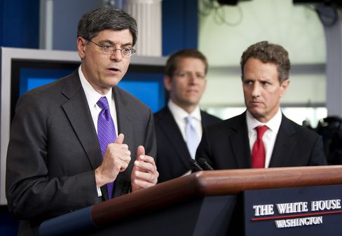 Lew-for-Geithner Switch Ends Era of Tight Fed-Treasury Ties