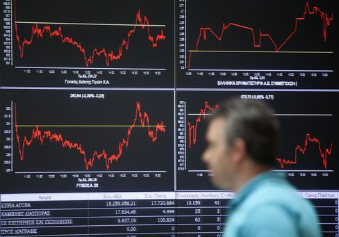 European Stocks Retreat Amid Mounting Greece Concern