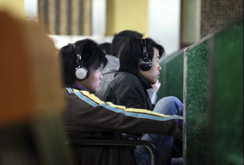 Digital tracks have given investigators a hacker's eye view of China's cyber spies. Photographer: Qilai Shen/Bloomberg
