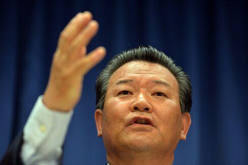 North Korean U.N. Ambassador Sin Son Ho