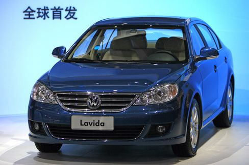 Volkswagen Outselling GM in China After Eight Years Behind