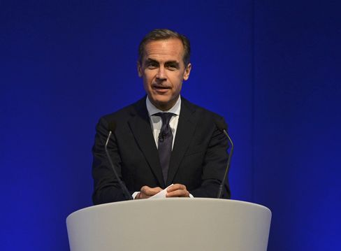 Carney Says BOE Ready to Loosen If Market Rates Hurt Recovery