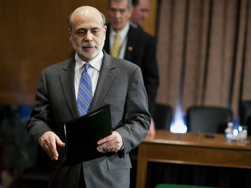 US  Federal Reserve  Chairman  Ben S. Bernanke