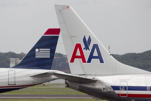 AMR-US Airways Said to Work on Final Terms of $11 Billion Merger