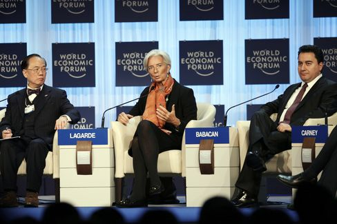 Davos World Economic Forum 2012