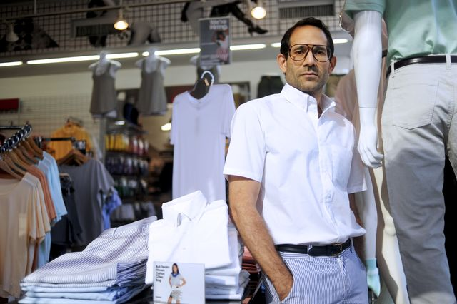 Dov Charney, dressed down at last.