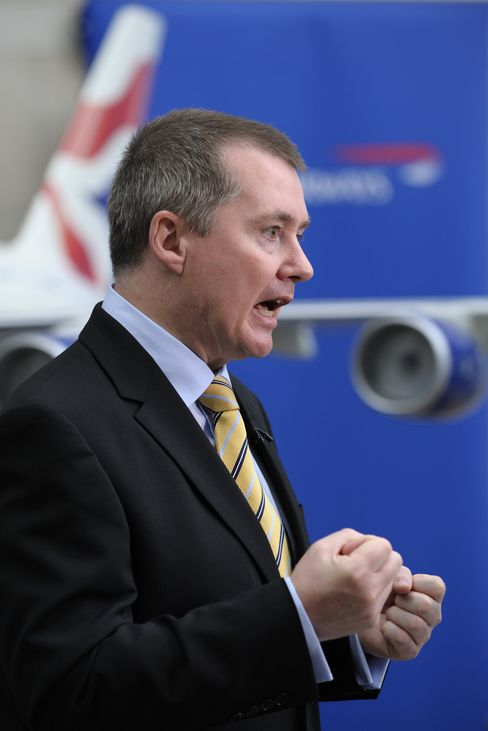 Willie Walsh, chief executive officer of British Airways