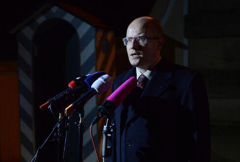 Social Democrat Chairman Bohuslav Sobotka