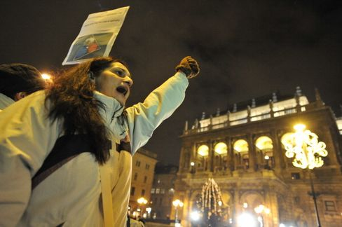 Hungary's New Constitution Sparks Protest by Opposition