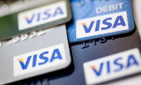 Visa Puts at Record High as Swipe Rule Threatens Lead