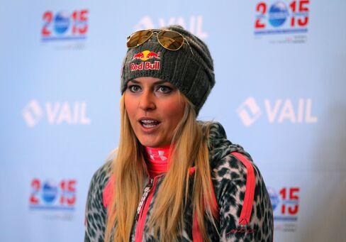 U.S. Skier Lindsey Vonn