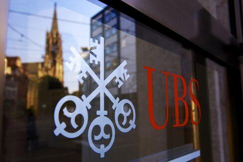UBS Bank Branch in Switzerland
