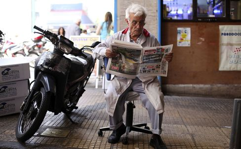 Retiring No Option for Older Workers in Europe Crisis