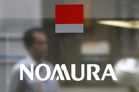 Nomura Tops Samurai Ranking First Time Since 2001:
