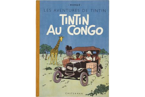 First edition of Tintin in the Congo,1946