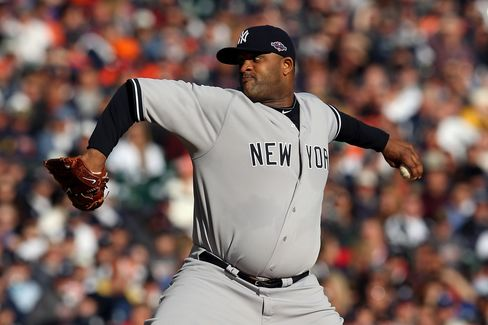 Yankees' Sabathia Concerned About Elbow, N.Y. Daily News Reports