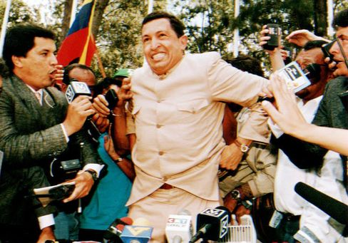 Chavez Freed After Coup Attempt in 1994