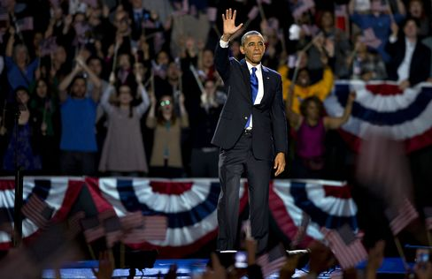 Obama's Job Approval Rises to First-Year Levels With Tax Mandate