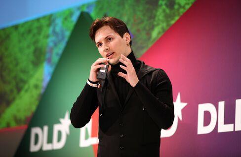 Vkontakte CEO Pavel Durov